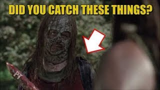 The Walking Dead Season 10 Easter Egg Discussion & Theory - Did You Catch These Things?