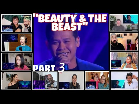 """BEAUTY AND THE BEAST"" PART 3 REACTORS REACTION COMPILATION/MARCELITO POMOY"