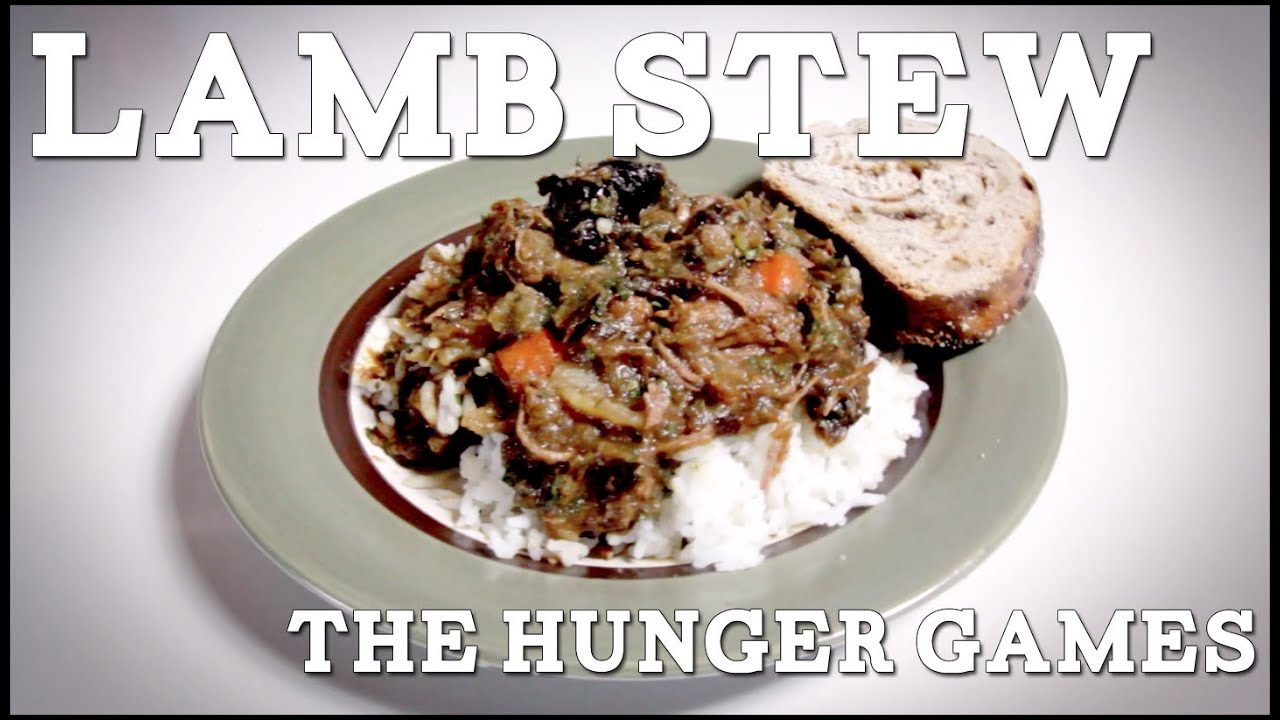 Lamb Stew with Plums The Hunger Games, Feast of Fiction Ep. 11