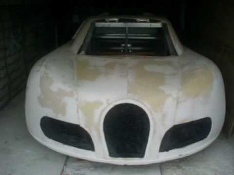 видео: bugatti veyron своими руками