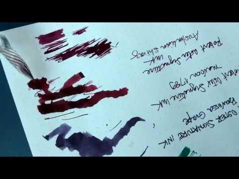 Tintas para caneta-tinteiro Robert Oster Signature
