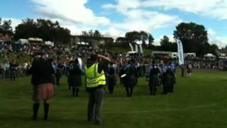Dumfries & Galloway Constabulary Pipe Band