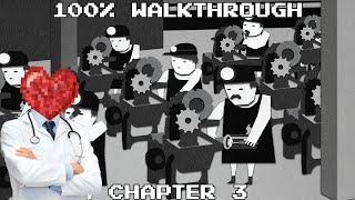 Monochroma: 100% Walkthrough - Chapter 3: Factory