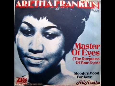 "Aretha Franklin - Master Of Eyes / Moody's Mood For Love - 7"" DJ Promo Germany - 1973"