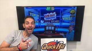 🔴LIVE Quick Hit Mobile Slot Tournament - BCSlots #AD