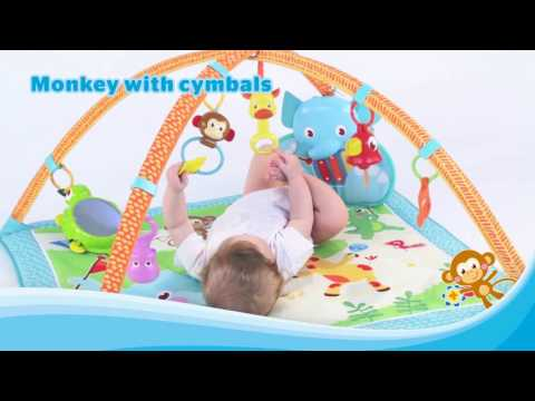 Gymini My Musical Friends Baby Playmat by Tiny Love