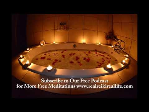 POWERFUL! Guided, Salt Bath Meditation Relieve Stress, Anxiety, Pain, to Cleanse Your Aura