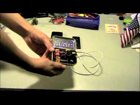 Altoids box using 9 volt batteries / case into an iPhone Battery Charger (Altoids USB Charger)