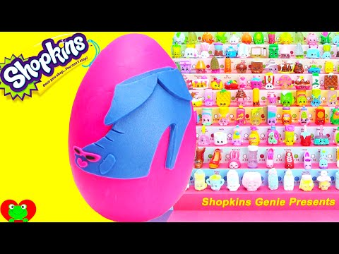 Shopkins Season 2 Limited Edition Angie Ankle Boot Play Doh Surprise Egg