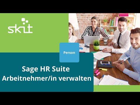 Sage HR Suite - Arbeitnehmer/in verwalten - Person