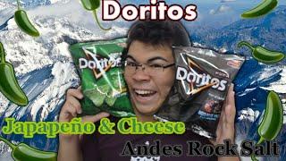Andes Rock Salt E Jalapeño & Cheese (doritos) - Harukitv