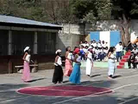 Kids Performing at School Screening in Guatemala City