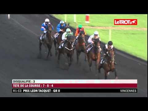 Vincennes   -   Prix Leon Tacquet (GROUPE II)   -   09-01-2016   -   Bilibili