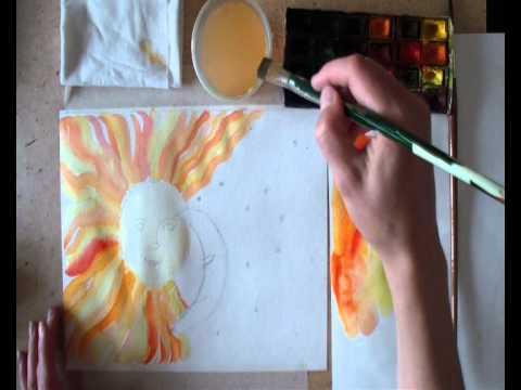 поможем подобрать мастер класс по рисованию акварелью для детей рабочем