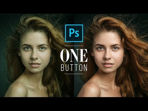 Fix Skin Tones With One Button In Photoshop!