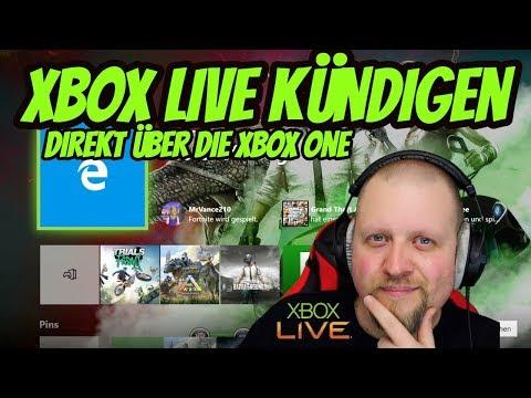 Xbox Live Kündigen Direkt Auf Der Xbox One Tutorial   DEUTSCH