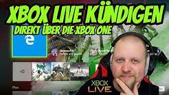 Xbox Live kündigen direkt auf der Xbox One Tutorial | DEUTSCH