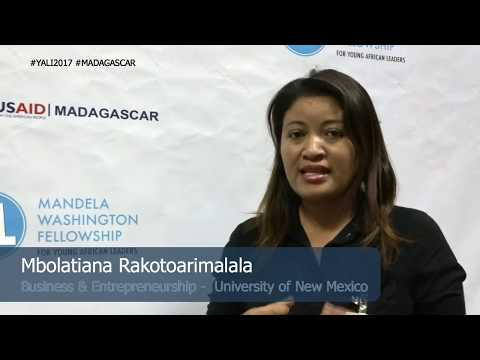 Mbolatiana Rakotoarimalala -  YALI2017 Madagascar