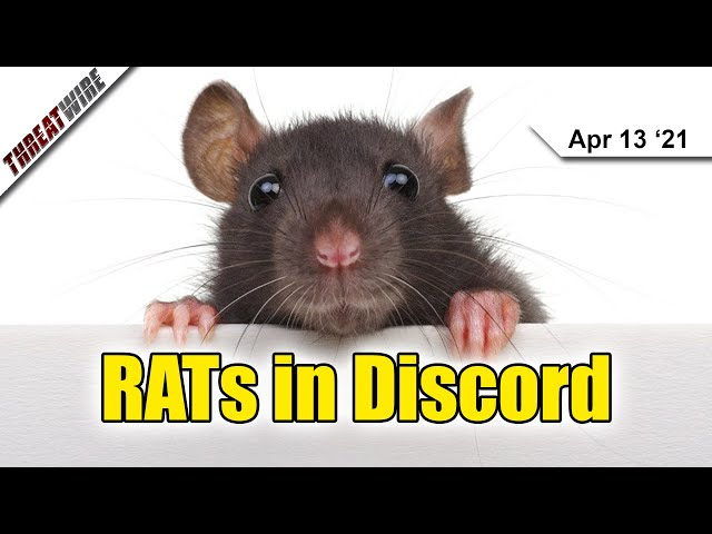 Discord and Slack Used To Spread RATs - ThreatWire