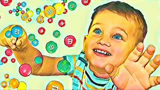 Mark pretend play with magic sweets - Magic Shower
