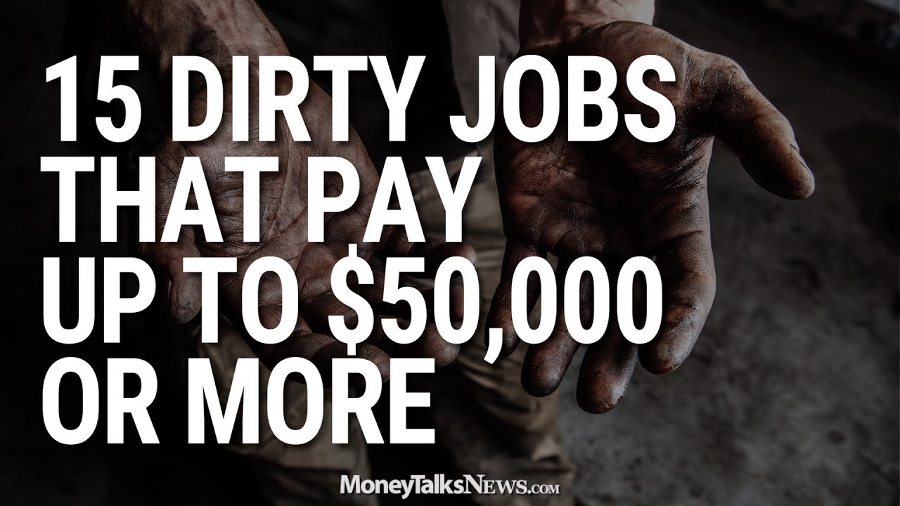 18146864b 20 Jobs That Will Pay Off If You're Not Afraid of Dirty Work   Money Talks  News