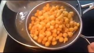 Hướng dẫn làm món ngô chiên bơ  nhu the nao