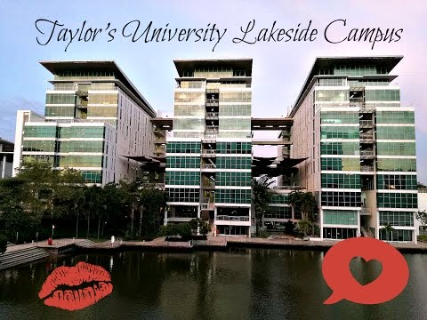 follow me around ( Taylor's University Lakeside Campus)