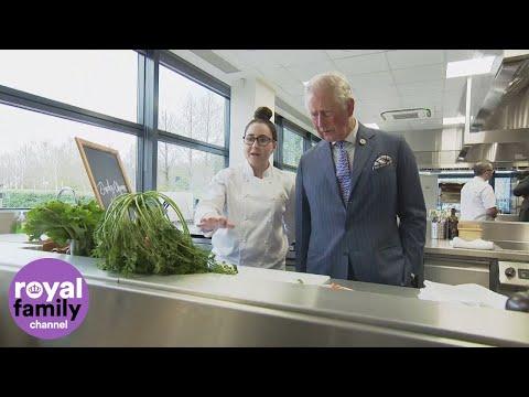Prince Charles opens new Waitrose food studio