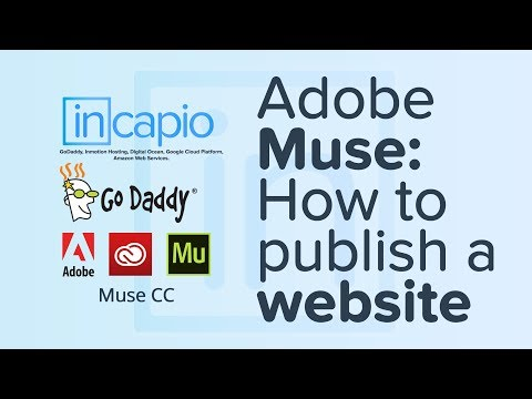 How To Set Up Adobe Muse CC With GoDaddy Via SFTP To Upload A Website. | CPanel | 2018