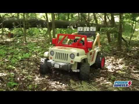 Power Wheels Jurassic Park Jeep Wrangler Toys R Us Canada Youtube
