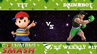 The Terrfic Tracy vs Drinkbot : Columbus Weekly 12/20/2016