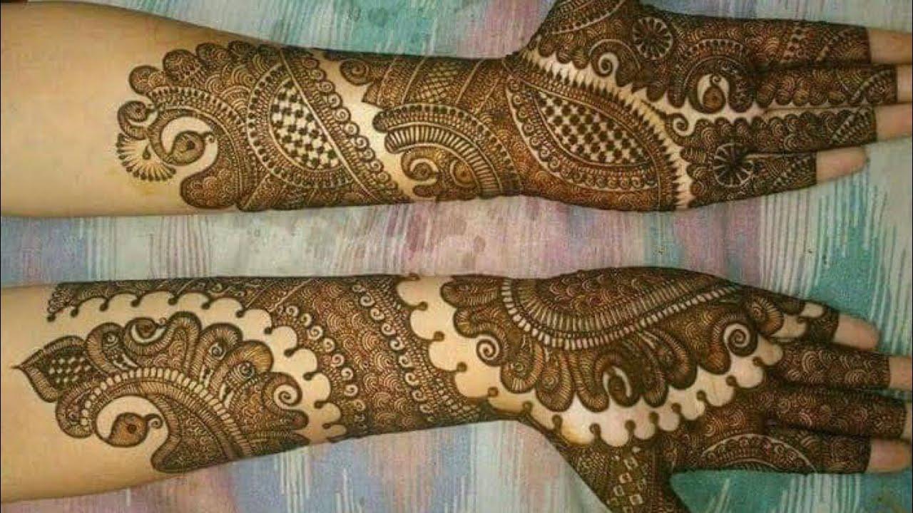 Step By Step Latest Mehndi Design For Hand 2020 Pakistani Bridal Mehndi Heavy Intricate Henna Youtube