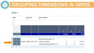 Grouping Dimensions in Grids video thumbnail