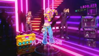 Dance Central 3 DLC - Hollaback Girl (Hard) - Gwen Stefani - Gold Stars