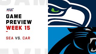 Seattle Seahawks vs Carolina Panthers Week 15 NFL Game Preview