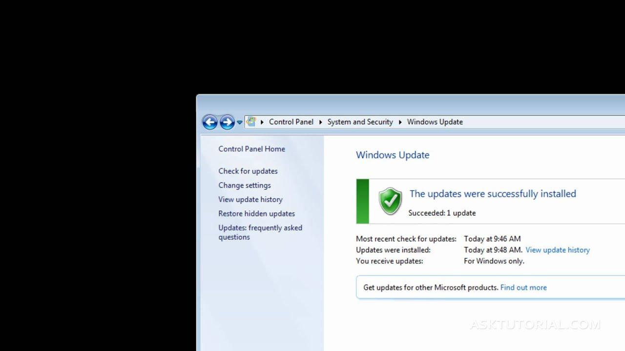 No tengo el windows update sony vaio update download for windows 7