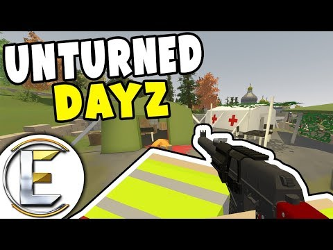 Need Food! - Unturned Dayz RP Survival EP 2 (We Searched Military Airport For Supplies)