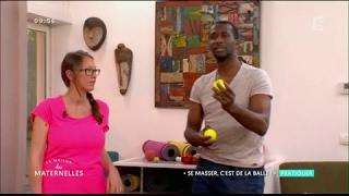 Comment se masser avec une balle de tennis ? La Maison des Maternelles