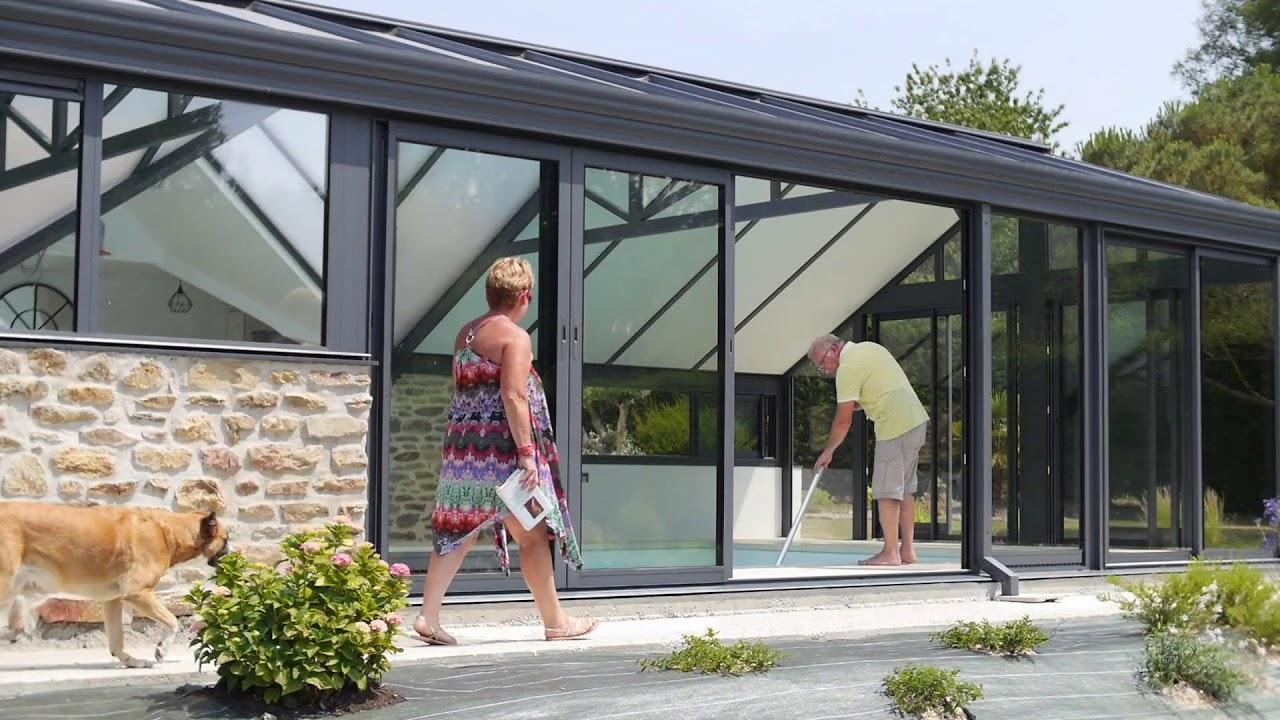 Extension Maison Piscine Couverte fillonneau - extension d'une piscine couverte