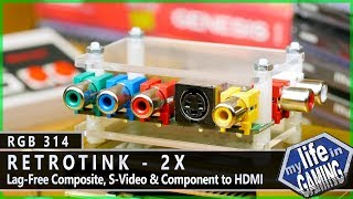 RetroTINK-2X - Composite, S-Video, & Component to HDMI :: RGB314 / MY LIFE IN GAMING