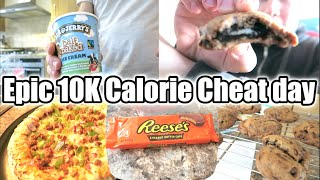 10,000 Calorie Cheat Day feat. Oreo Stuffed Cookie