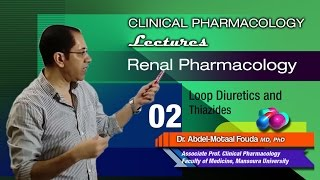 Renal Pharmacology - 02 - Loop diuretics and thiazides