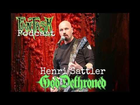 Henri Sattler of God Dethroned Interview