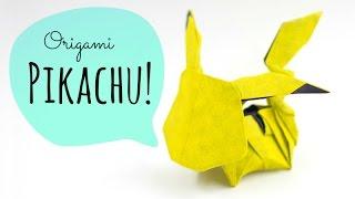 Origami Pikachu! (Tadashi Mori)