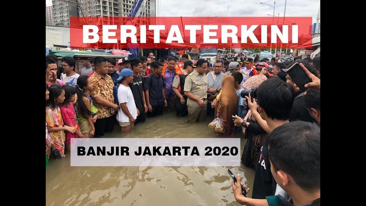 BERITA TERKINI BANJIR JAKARTA 2020 - YouTube