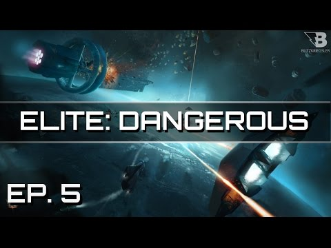 That Crashing Feeling...! - Ep. 5 - Elite: Dangerous - Let's Play - Release