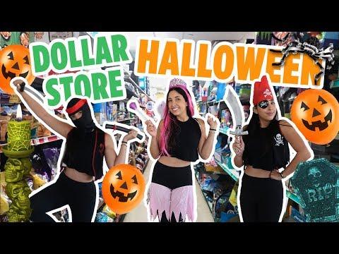 DOLLAR STORE HALLOWEEN COSTUME CHALLENGE 👻 | Mar