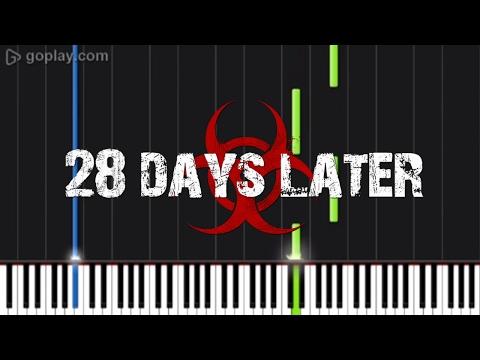 28 Days later theme - Piano Tutorial