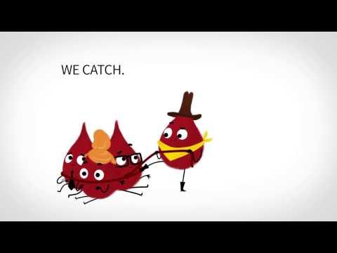 We catch, you match | Blutspendeaktion Universität Zürich 2016