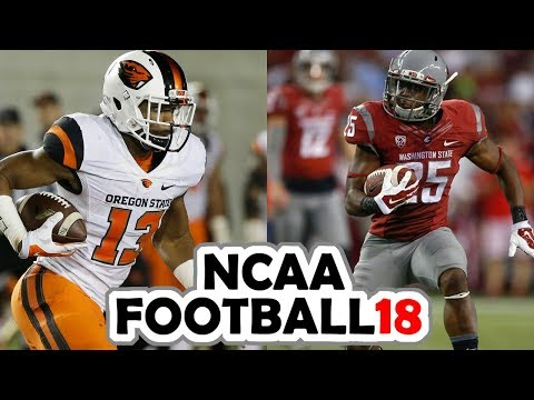 Oregon State @ Washington State - 9-16-17 NCAA Football 18 PRESEASON Simulation